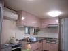 システムキッチンはサンウェーブのピットを採用。
