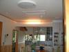 キッチンのたれ壁に間接照明をはめ込みました