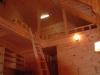天井、内壁すべて羽目板で仕上げました